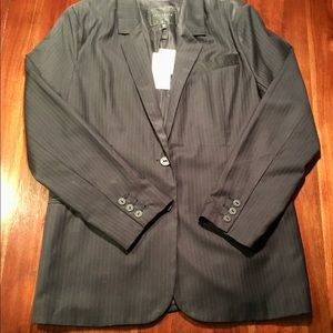NWT Pinstriped SANCTUARY Blazer Jacket L